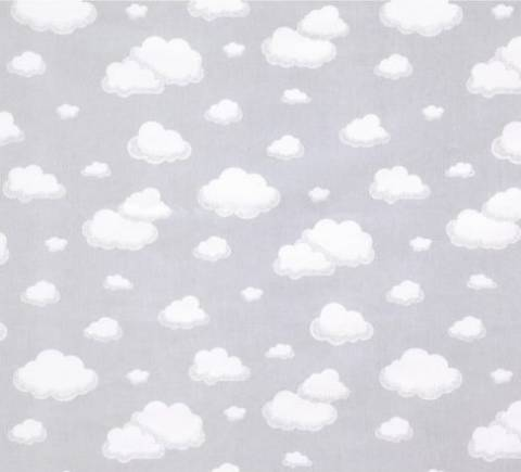 Nuvens Fundo Cinza Ref. 5255 F Dohler - Armarinhos Nodari