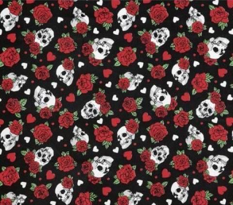 Caveira Roses Ref. 5437 Dohler - Armarinhos Nodari