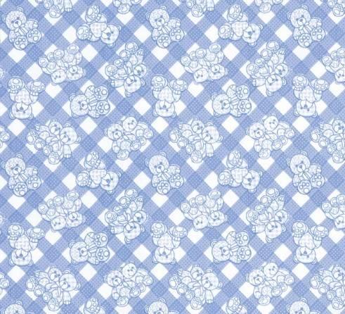Ursinhos Azul Ref. 5309 B Dohler - Armarinhos Nodari