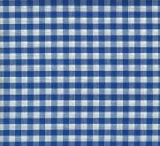 Tecido Xadrez para Toalhas Azul - Ref.781 - Dohler