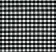 Tecido Xadrez para Toalhas Preto - Ref.781 - Dohler