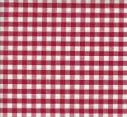Tecido Xadrez para Toalhas Vermelho - Ref.781 - Dohler