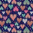 Corações Azul Ref. AU6310-2 Eva e Eva