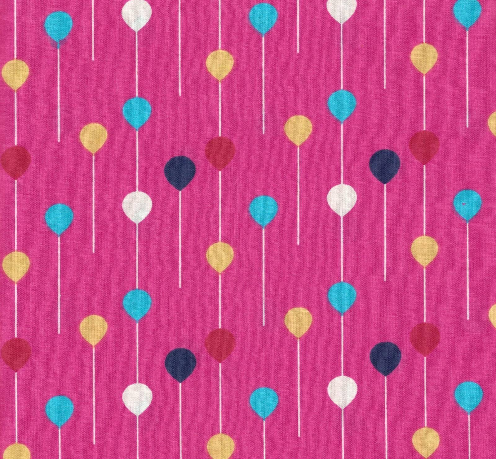 Bexigas Fundo Pink Ref. DC04 Decorart - Armarinhos Nodari