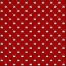 Coroa com poá vermelho Ref.1143 cor 106 Peripan