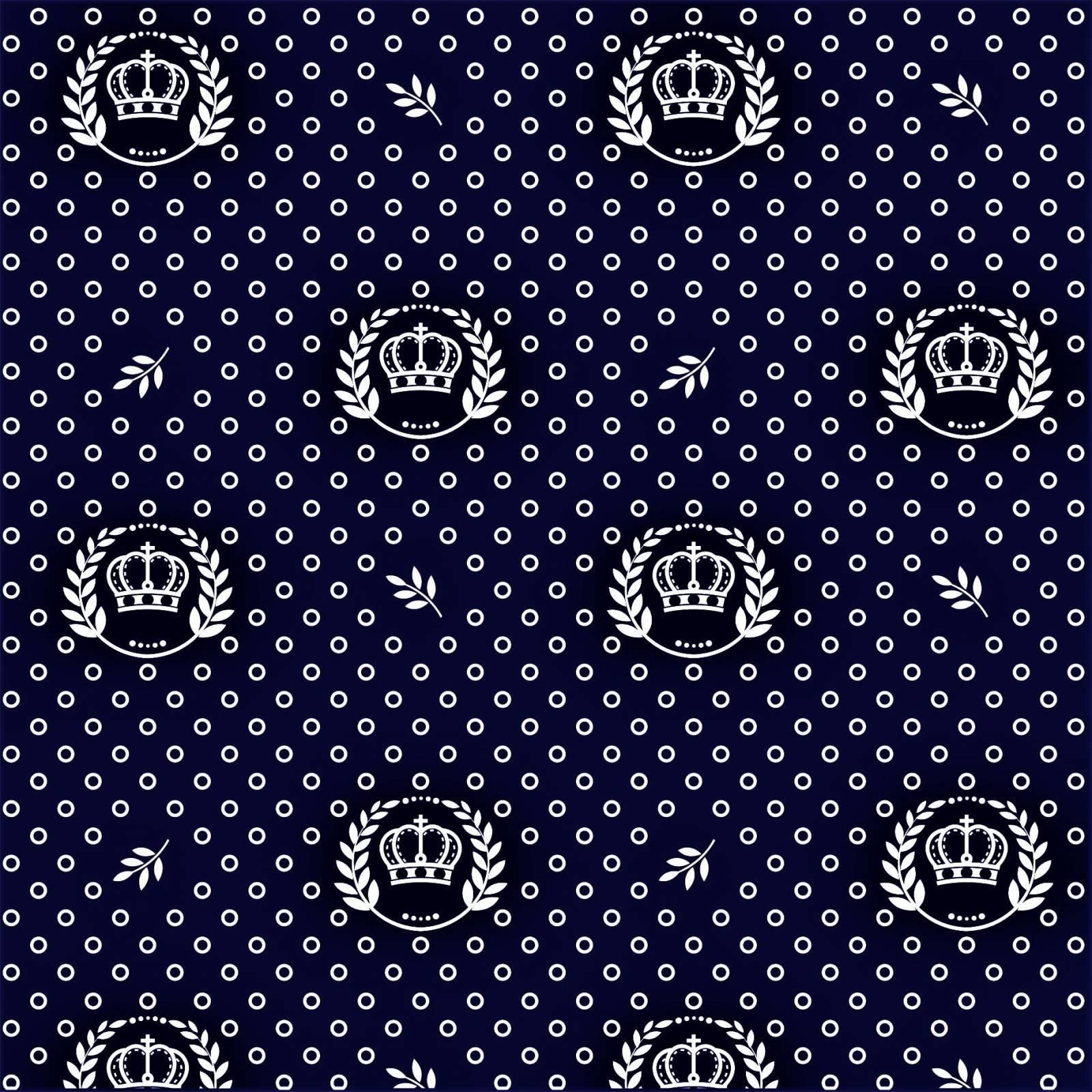 Coroas fundo azul marinho Ref.1169 cor 602 Peripan - Armarinhos Nodari