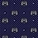 Coroas fundo azul marinho Ref.1169 cor 602 Peripan