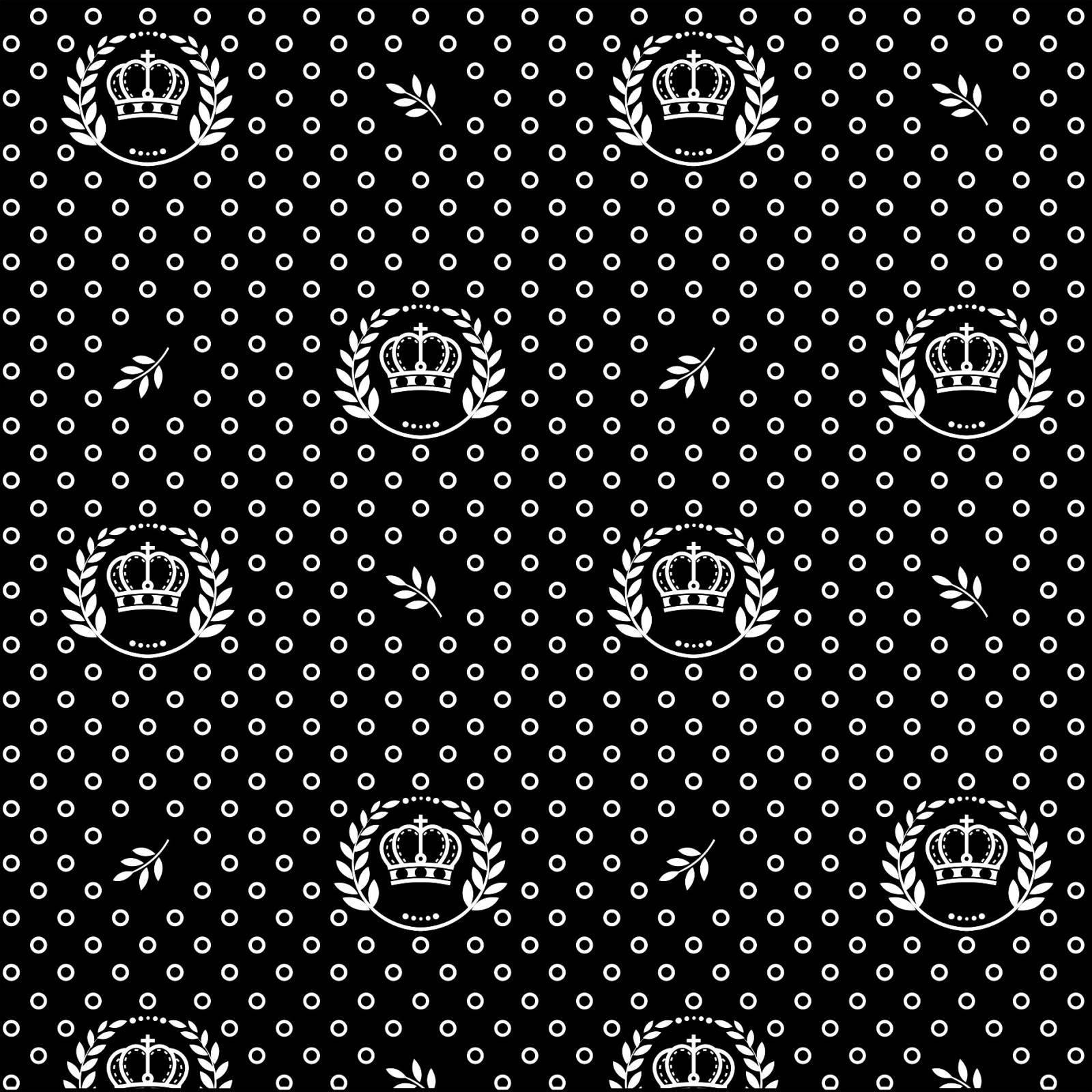 Coroas fundo preto Ref.1169 cor 104 Peripan - Armarinhos Nodari