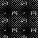 Coroas fundo preto Ref.1169 cor 104 Peripan