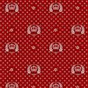 Coroas fundo vermelho Ref.1169 cor 106 Peripan