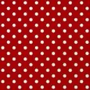 Poá grande vermelho Ref.1554 cor 106 Peripan