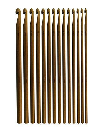 Agulha de crochê bambu ECO a partir de - Armarinhos Nodari