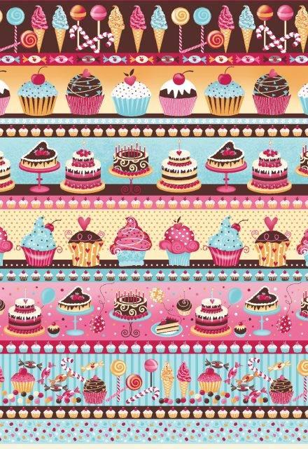 Barrado bolos e doces Ref.351997 cor 2073 - Armarinhos Nodari