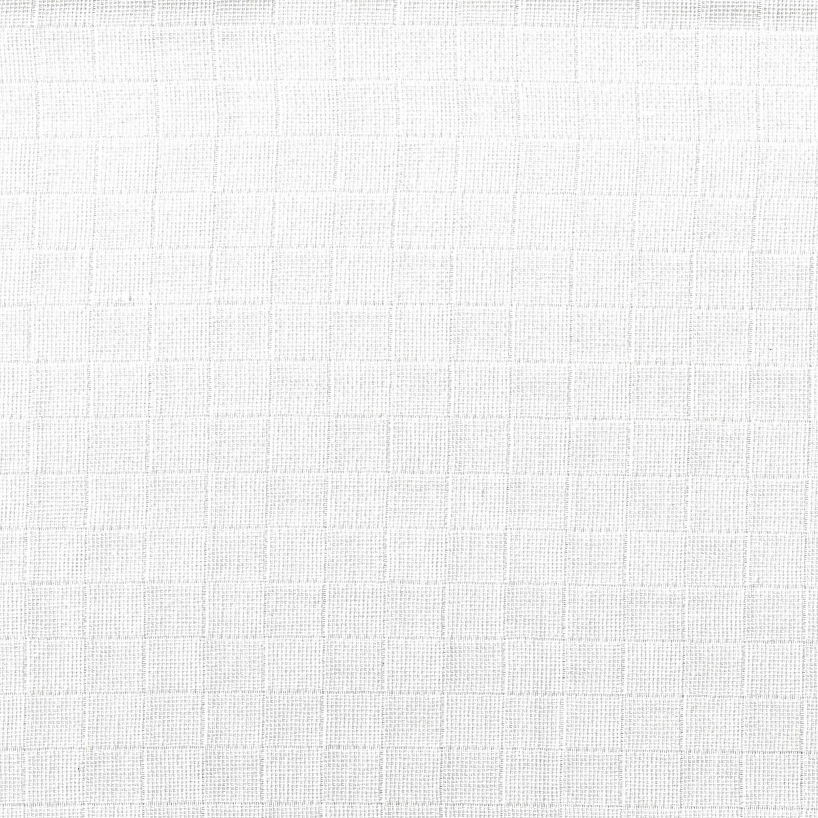 Fralda quadriculada Mabber 80cm cor branca Ref. FM01 - Armarinhos Nodari