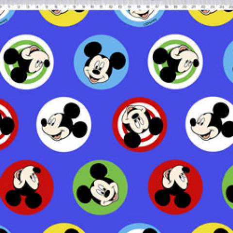 Mickey buttons Disney Ref. MK005 cor 01 - Armarinhos Nodari