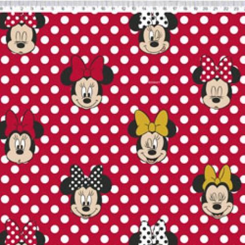 Minnie com poá Disney Ref. MI003 cor 01 Fernando Maluhy - Armarinhos Nodari