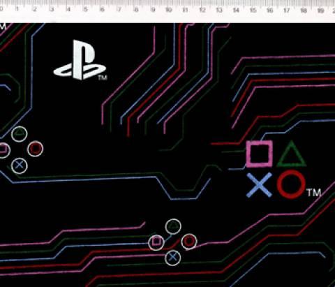 PlayStation Circuito Ref. PS003 Cor 01 Fernando Maluhy - Armarinhos Nodari