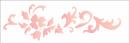 Stencil 10x30cm OPA arabesco floral III Ref. OPA1846
