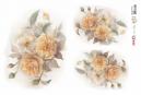 Opapel decoupage 30x45cm flor rosas amarelas Ref. 2398