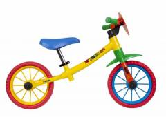 Bicicleta de equilíbrio Caloi Zigbim