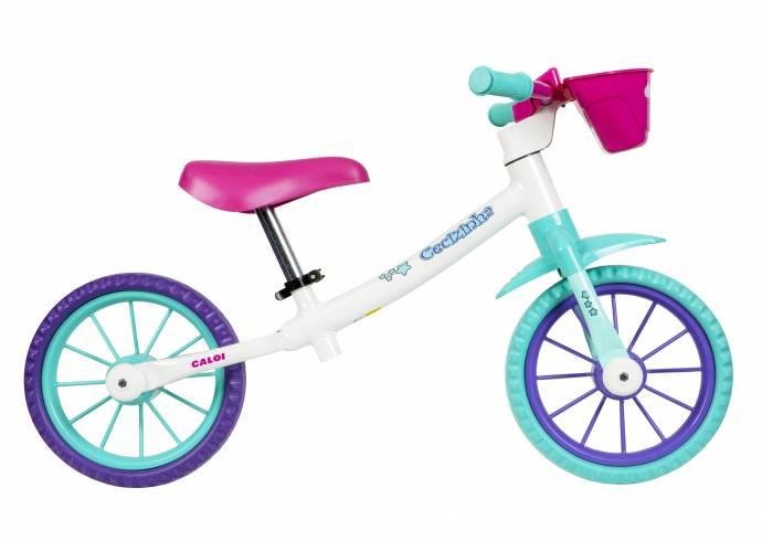 Bicicleta de equilíbrio Caloi Cecizinha - BIKE ALLA CARTE