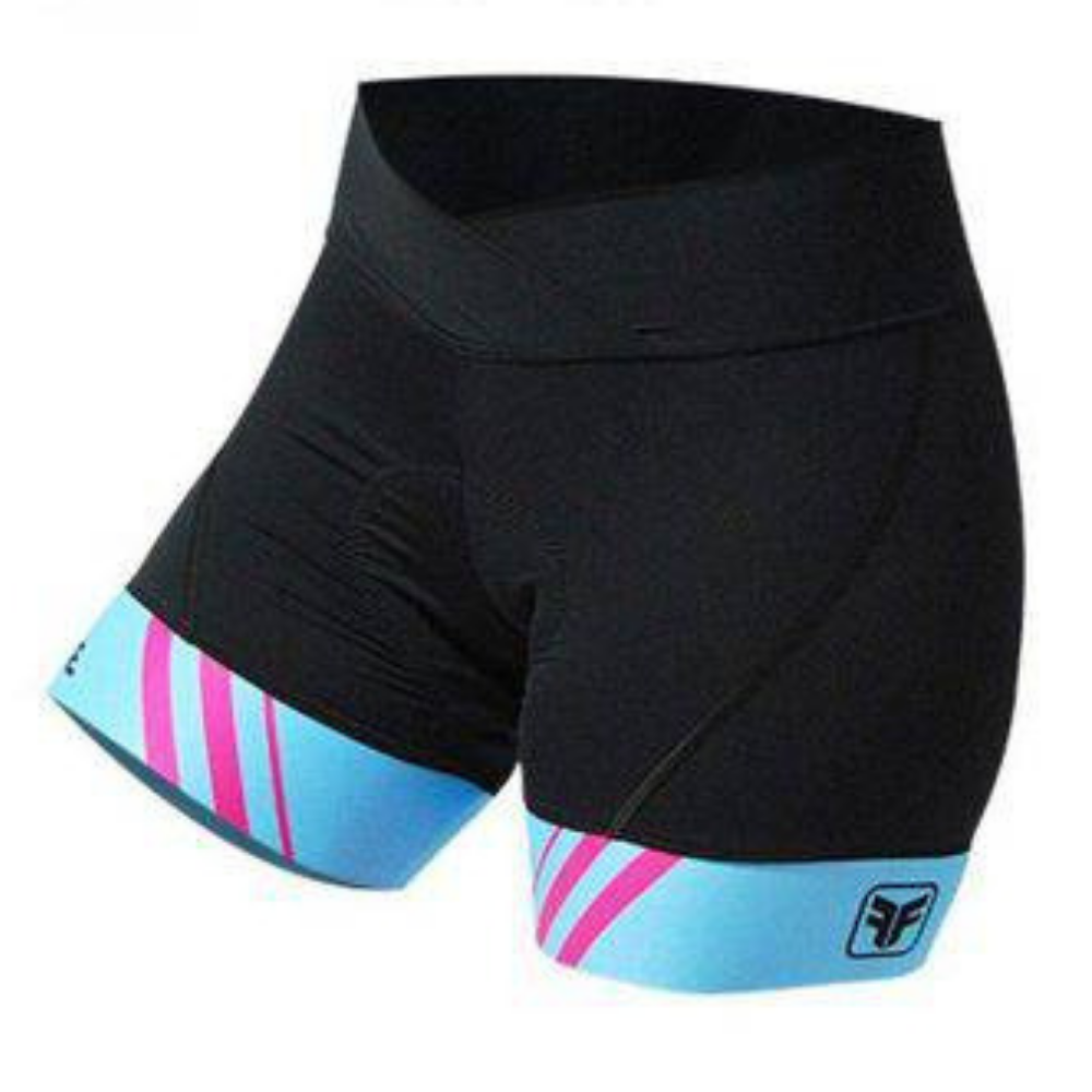 Bermuda Feminina Free Force Stripes - BIKE ALLA CARTE
