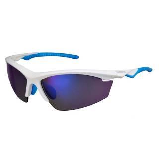 Óculos Shimano EQX2-PL Branco/Azul