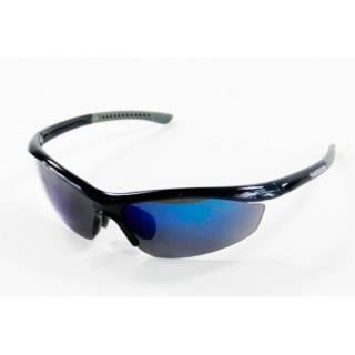 Óculos Shimano S20R Metálico Preto/Cinza Lente Azul