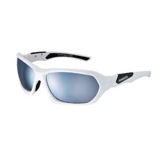 Óculos Shimano S41X Branco/Preto Lente Cinza
