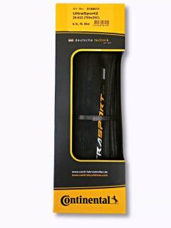 Pneu Continental Ultrasport II 700x28C Preto