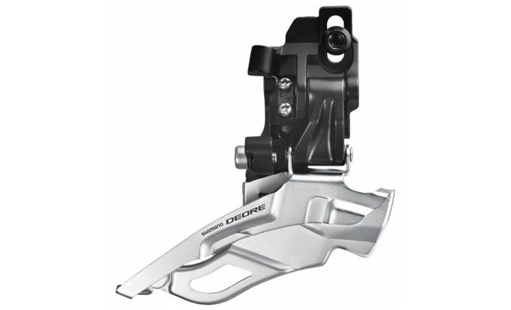 Cambio dianteiro Shimano Deore M611 direct mount triplo