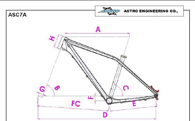 Quadro Astro Centurion Carbon 27,5