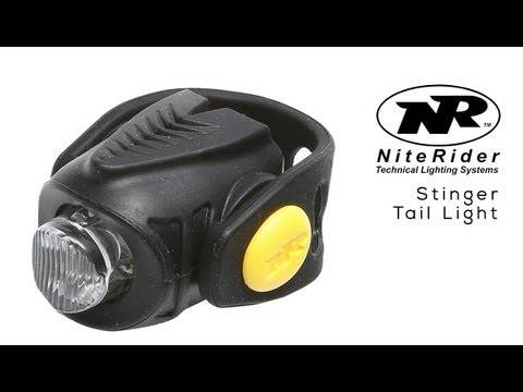Lanterna traseira niterider Stinger - BIKE ALLA CARTE