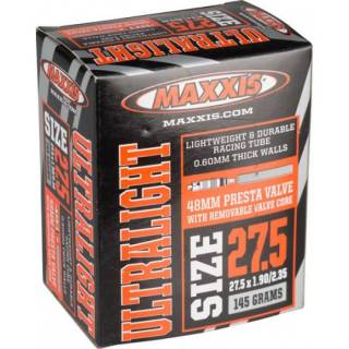 Câmara de ar Maxxis 27,5 x 1,9/ 2,35 Ultraligth 48mm