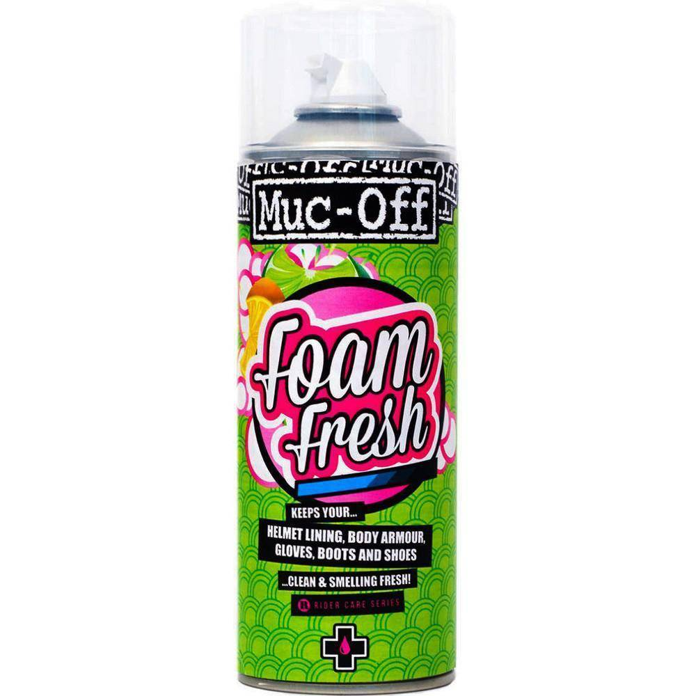 Muc-Off Foam Fresh Spray Espuma Limpa Capacetes e Acessórios - BIKE ALLA CARTE