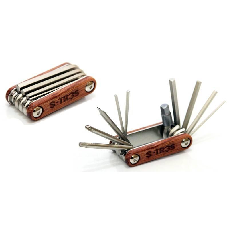 Chave Canivete Session Parts S-tr3s 10 Funções - BIKE ALLA CARTE
