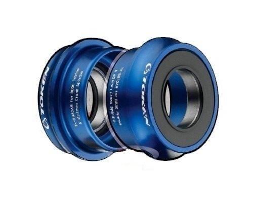 Movimento Central Token BB30AR Shimano Azul - BIKE ALLA CARTE