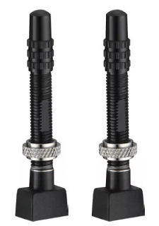 Válvulas Alumínio Tubeless Token TK335A - Preta