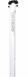Canote de Selim Syncros Fl 1.5 Zero Alumínio 31.6x400mm - Branco