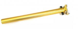 Canote de Selim Wg Sports 31.6x400mm Dourado