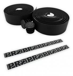 Fita de Guidão Pro Race Control Microfibra Preta- Refletiva