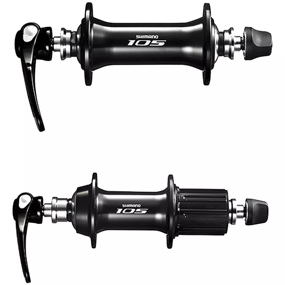 Cubo Shimano Speed 105 5800 32f Preto Bike 10/11v Par - BIKE ALLA CARTE
