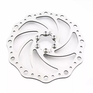 Disco Rotor Absolute 180mm Freio Mec Hidr Mtb Xc Bike 6F