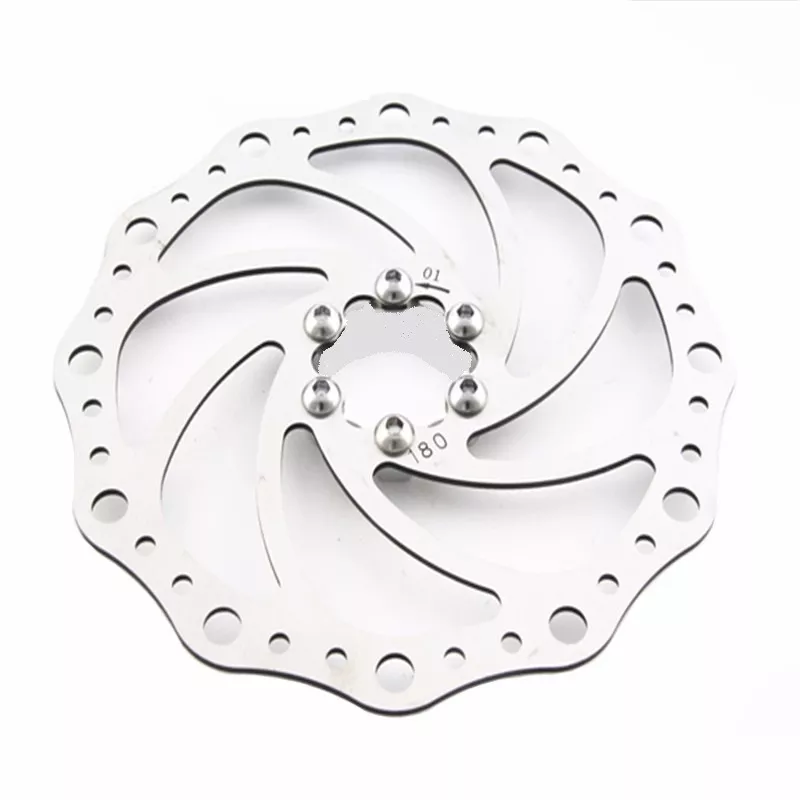 Disco Rotor Absolute 180mm Freio Mec Hidr Mtb Xc Bike 6F - BIKE ALLA CARTE