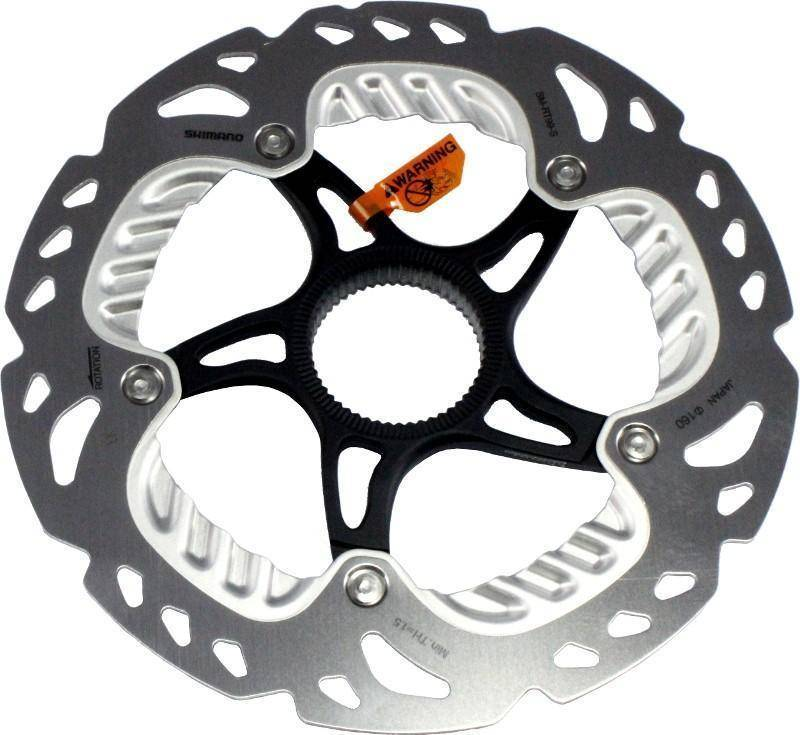 Disco Rotor Shimano XTR/SAINT SM-RT99 160mm Center Lock - BIKE ALLA CARTE