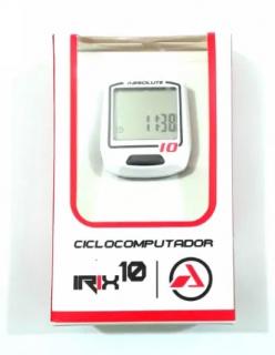 Ciclocomputador Absolute Irix 10 - Branco Com Fio