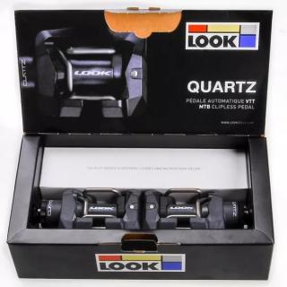 Pedal Look Quartz Mtb 2 - Cinza