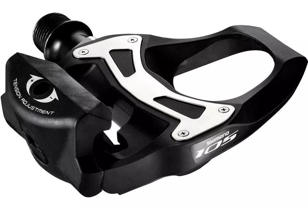 Pedal Shimano 105 Pd-5800 Spd-sl Encaixe Road  - BIKE ALLA CARTE
