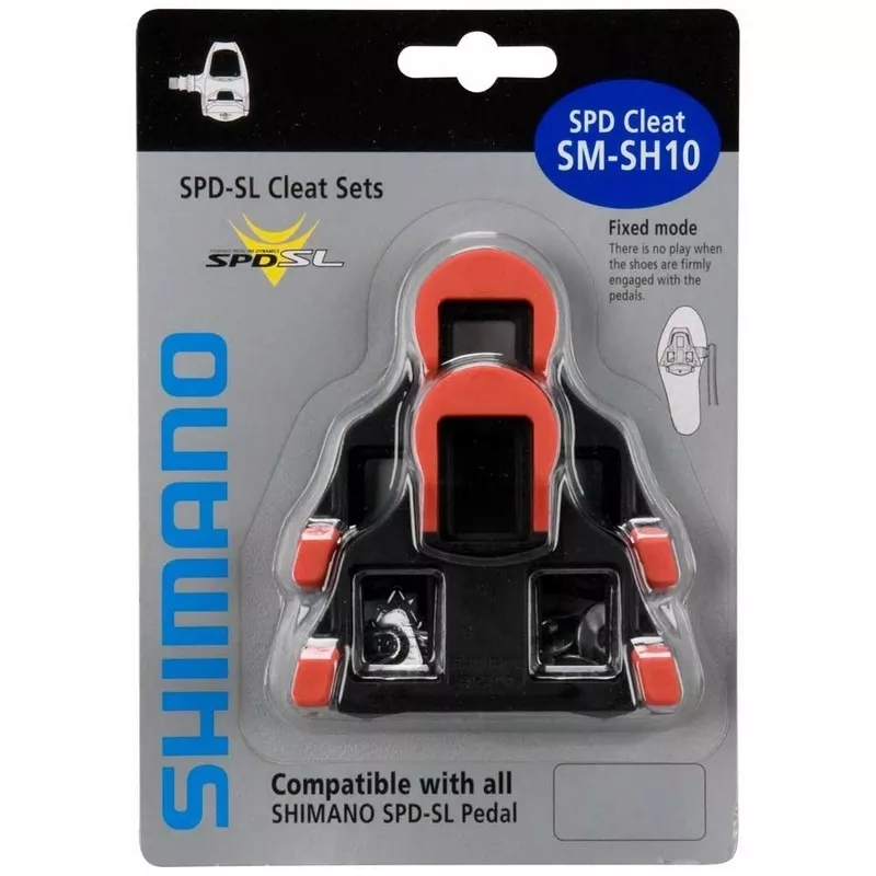 Taco Shimano Pedal Speed Sm-sh10 Vermelho - BIKE ALLA CARTE