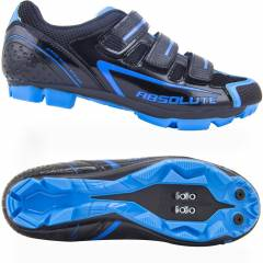 Sapatilha MTB Absolute Nero - Preto / Azul